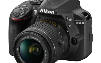 Nikon D3400 – prvi Nikonov D-SLR za začetnike s povezljivostjo SnapBridge